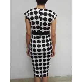 Polka Dots Fashion Women's Bodycon Dress
