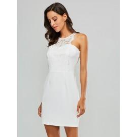 Women's Off Shoulder Lace Dress
