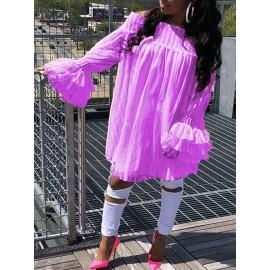 Fashion Off Shoulder Women's Lace Dress