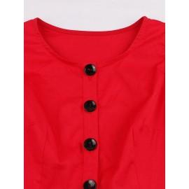 Sleeveless Lace Bow Vintage Women's Maxi Dress